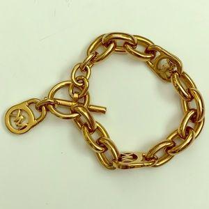 "Michael Kors ""charm"" bracelet"
